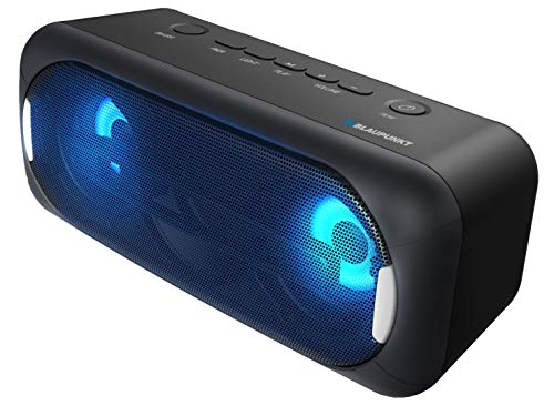 Blaupunkt BLP3940 Tragbarer Bluetooth-Lautsprecher, 22 W, Subwoofer, LED-Licht