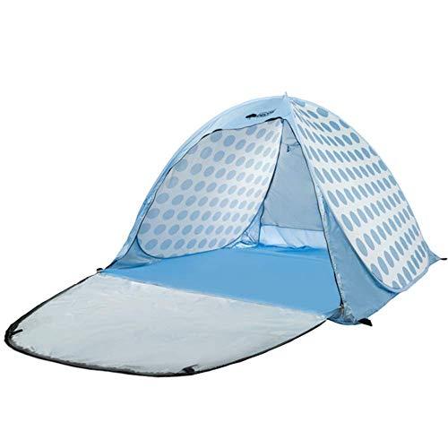 LHQ-HQ Familia Carpa Exterior del pabellón de la Familia Sun Canopy protección UV Carpa Persona al Aire Libre Tienda de campaña 3-4 Tienda al Aire Libre de 200 * 300 * 130 cm Azul Oscuro
