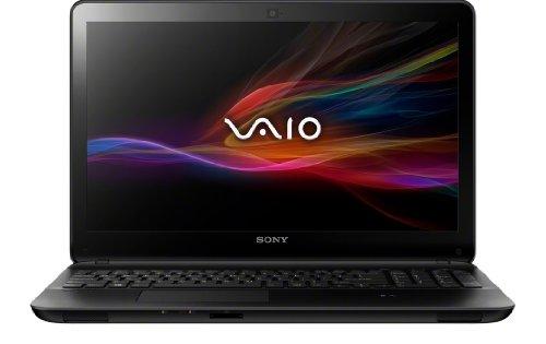 Sony VAIO SVF1521V6EB 39,5 cm (15,5 Zoll) Notebook (Intel Core i7-3537U, 2,0Ghz, 8GB RAM, 1000GB HDD, Intel HD 4000 und NVIDIA GF GT 740M (2GB), Blu-ray Brenner, Win 8) schwarz