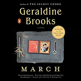 March audiobook cover art