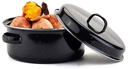 NBHUYT Multifunctionele huishoudelijke rookvrije barbecue pot geroosterde zoete aardappel barbecue saus non-stick barbecue fornuis geroosterde aardappel pot keuken pot