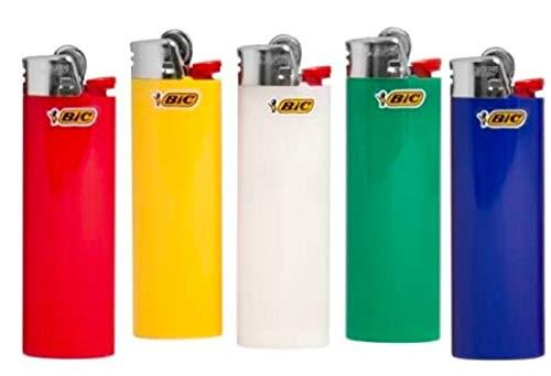 25 BIC Maxi J26 Feuerzeuge mit Kindersicherung farbig sortiert