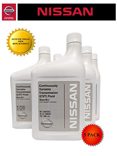 Nissan Genuine OEM CVT-2 Transmission Fluid 999MP-NS200P (5 Quarts)