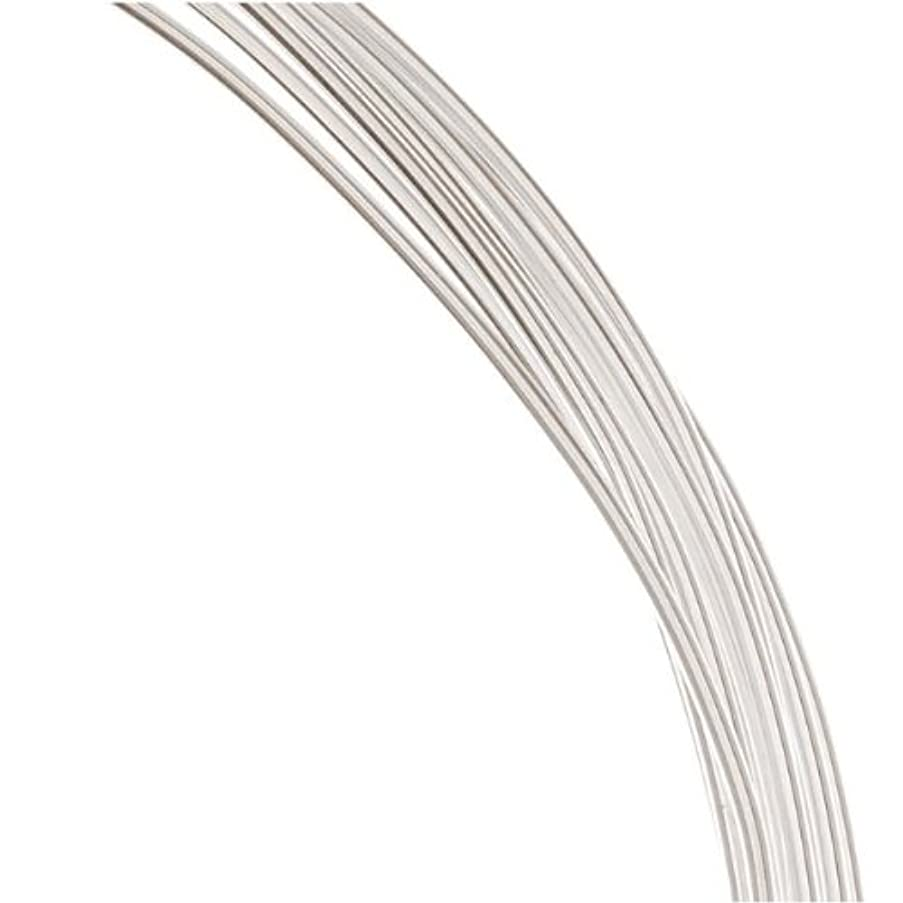 1 Ounce. (12 Ft.) Sterling Silver Wire 18 Gauge - Round-Dead Soft