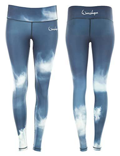 WINSHAPE Damen Functional Power Shape Tights Leggings AEL102, air, Slim Style, Fitness Freizeit Sport Yoga Workout, S