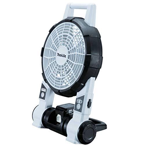 Makita Ventilador portátil DCF201ZW, 18 V, color blanco