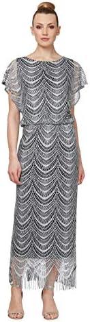 S.L. Fashions Women's Blouson Metallic...
