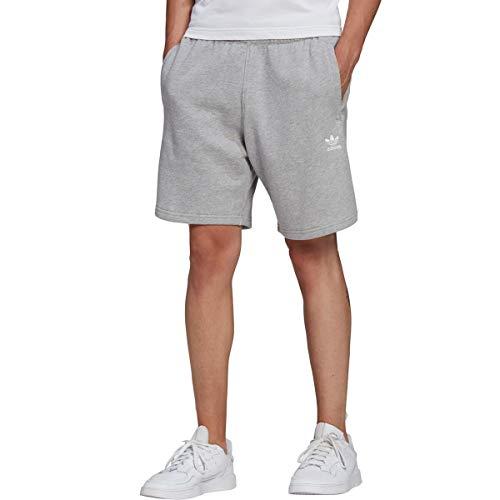 adidas Originals,mens,Trefoil Essentials Shorts,Medium Grey Heather,Large