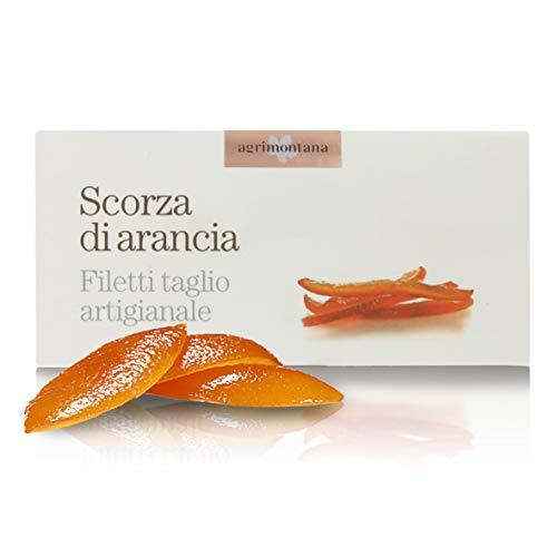 Agrimontana Cáscara De Naranja Confitada - 200 Gramos