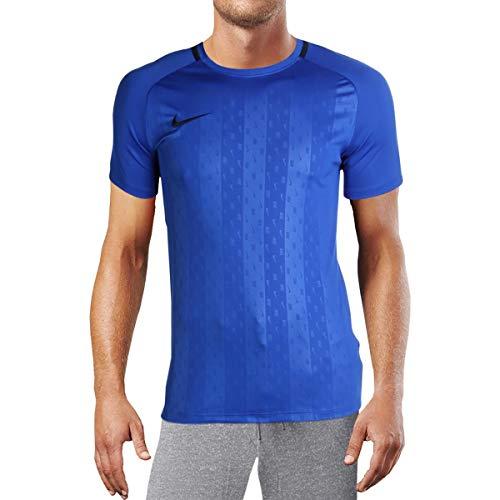 Nike Herren Dry Academy T-Shirt, Hyper Royal/Obsidian, 2XL