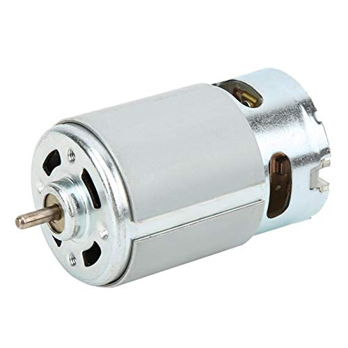 Power Tool Accessories, Micro DC Motor, RS-550 Micro Motor DC 12-24V 22000 RPM for Various Cordless Electric Hand Drill