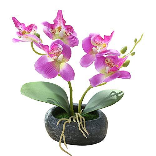 Flikool 2 Stems Orchideen Künstlich im...