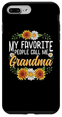 grandma phone cases iPhone 7 Plus/8 Plus My Favorite People Call Me Grandma Phone Case Grandma Gift Case