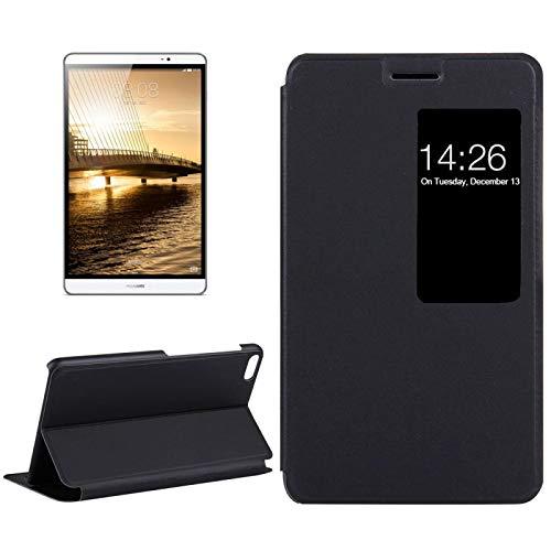 SHISHUFEN Funda para tablet Huawei MediaPad M2 Youth Version 7.0 Litchi textura horizontal Flip Funda de piel con soporte y ventana inteligente