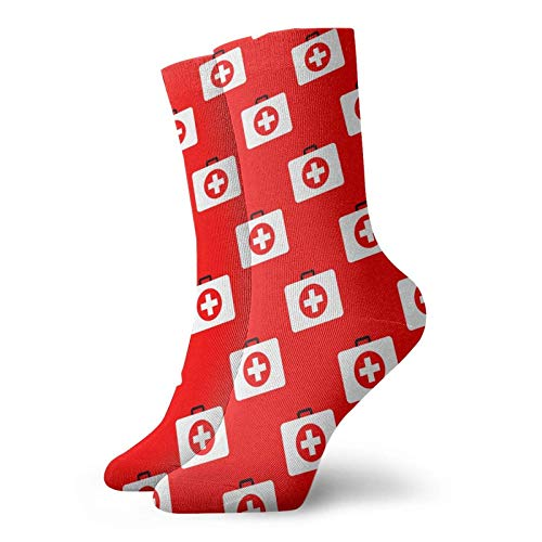 First-aid kit Funny Socks For Men Women Casual No Show Ankle Socks