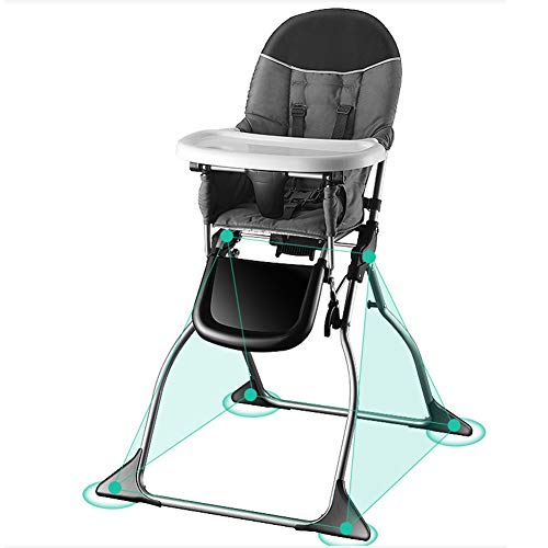 Best Review Of Baby Foldable Portable High Chair Multifunctional Child Feeding Chair Develop A Good ...