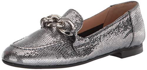Donald J Pliner womens Loafer, Silver, 5 US