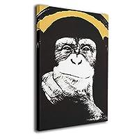 アートフレーム アートパネル Banksy バンクシー ストリート 現代壁の絵 壁掛け式の装飾画 壁アート 木製 インテリアアート 額縁なし ポスター 部屋飾り ウォールアート モダン 30x20cm