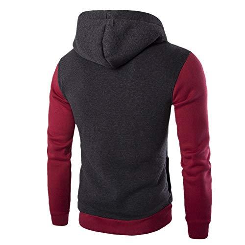 Z&Y Glaa Mens Cotton Padded Borg Fleece Sherpa Lined Full Zip Up Hoodie Sweatshirt Jacket Military Waterproof Men's Softshell Jacket Fleece Lining Camouflage Outdoor Coat