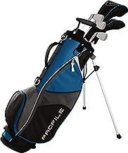 Wilson Golf Profile JGI Junior Complete Golf Set — Large, Blue, Right Hand