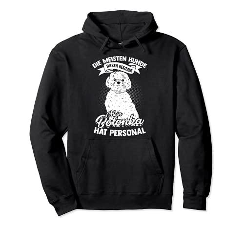 Mein Bolonka Hat Personal Hund Hunde Haustier Bolonka Zwetna Pullover Hoodie