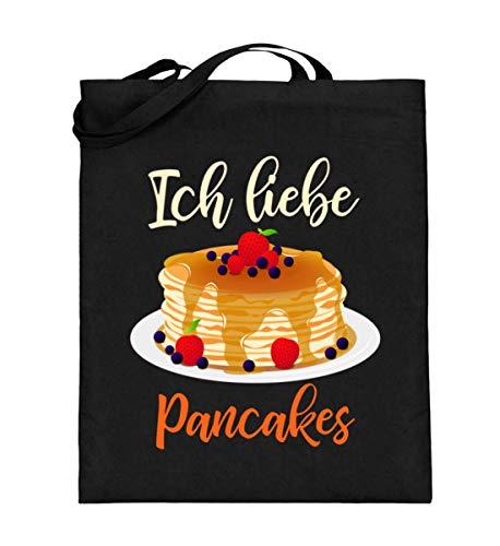 Für Pancakes Fans - Jutebeutel (mit langen Henkeln)
