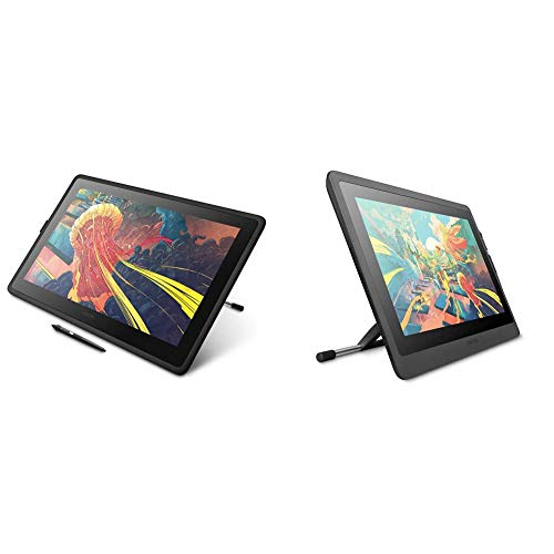 Wacom Cintiq 22 Drawing Tablet With Hd Screen, Graphic Monitor, 8192 Pressure-Levels (Dtk2260K0A) 2019 Version, Medium & Cintiq Adjustable Stand