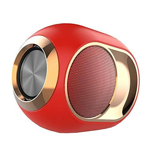 Lanceasy High-End draadloze luidspreker Bluetooth luidspreker subwoofer stereo ondersteuning TF-kaart USB-flashdrive