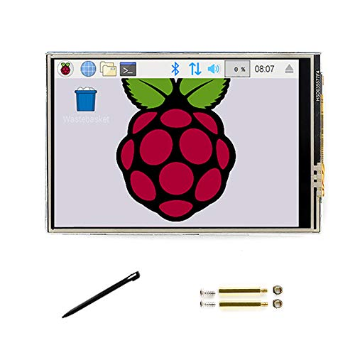 3.5 Inch C LCD Touch Screen 480 * 320 TFT Monitor Display 125MHz High-Speed SPI for Any Revision of Raspberry pi