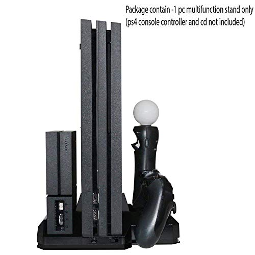 Tobo Multifunction Console Vertical Stand with Cooling Fan and Charging Dock PS...