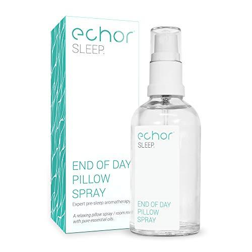 """Echor """"Schlaf"""" Kissen-Spray. Langanhaltender Raum-Nebel/Kissen-Nebel. Mischung 100% reiner ätherischer Öle mit Lavendel für Entspannung und erholsamen Schlaf 50 ml."""