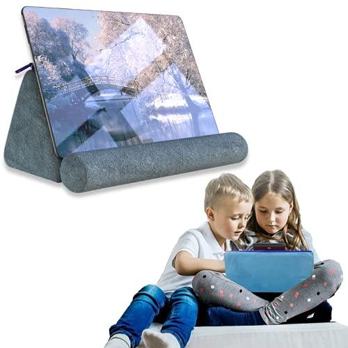 Soporte para Tablet Cama - Soporte telofono móvil Cama - Atril portatil para moviles - Sujeta movil - Cojin Lectura Cama
