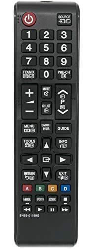 ALLIMITY BN59-01199G Fernbedienung Ersetzen für Samsung UA32J4303 UE32J4505 UE40JU6050 UE48J5250 UE55JU6072 UE32J4570 UE48J5270 UE32J5200 UE43JU6050 UE40J5205