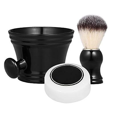 Anself Shaving Set Beard Shaving Tools Shaving Mug Bowl Shaving Brush Home Barber's Traditional Shaving Kit