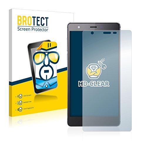 BROTECT Schutzfolie kompatibel mit Oukitel U13 (2 Stück) klare Bildschirmschutz-Folie