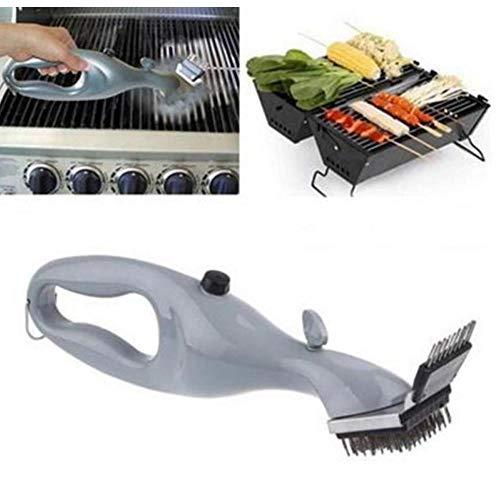 Zonster Grill Edelstahl Grillreinigungsbürste Churrasco Außengrillreiniger mit Dampfkraft Grillzubehör Kochen Werkzeuge