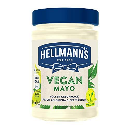 Hellmann's Vegan Mayonnaise Glas, 6er Pack (6 x 270 g)  8710604791076