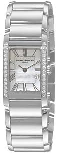 Baume & Mercier Women's 8748 Hampton Cuff Diamond Watch image