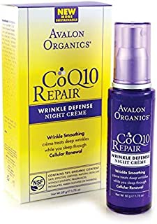 CoQ10 Wrinkle Defense Night Creme, 1.75 fl oz