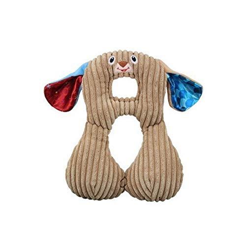 Mignon Animal Forme Bébé Oreiller Protection Du Cou Oreiller For 0-12 Ans Enfants Infant Toddler Safety Seat Oreiller Voyage Accessoires (Color : Dog)