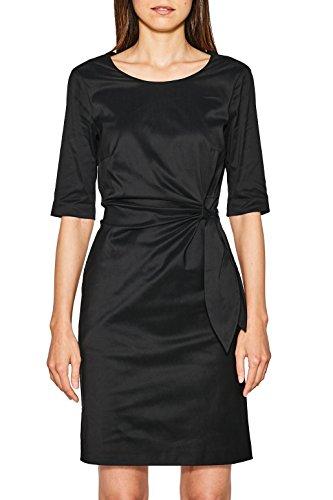 ESPRIT Collection Damen 997EO1E806 Kleid, Schwarz (Black 001), 36