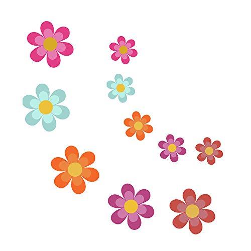 Gobesty Anti-Slip Sticker, 10 stuks Anti-slip Appliques, zelfklevende stickers voor kinderen, anti-slipstickers voor badbadbaddouches, zwembaden, boten, trappen