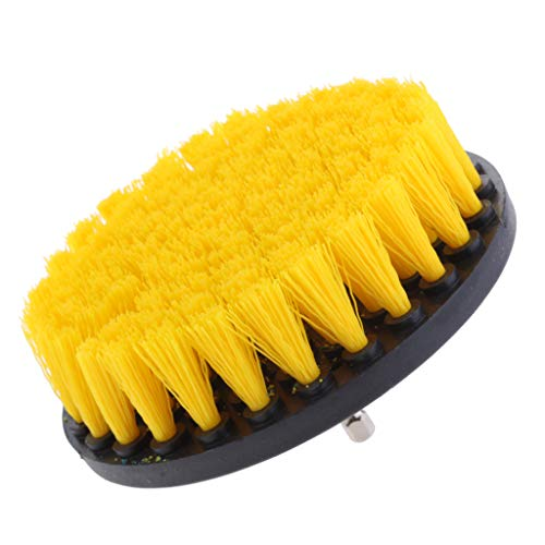 Purchase Baoblaze 1Pc Tile Grout Drill Brush Power - Yellow Medium Brush 5inch