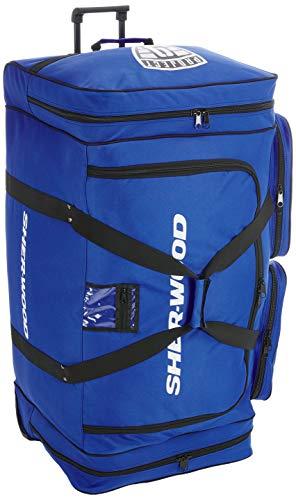 SherWood Eishockeytasche Project 9 Für Eishockeyausrüstung, Blau, 144 Liter