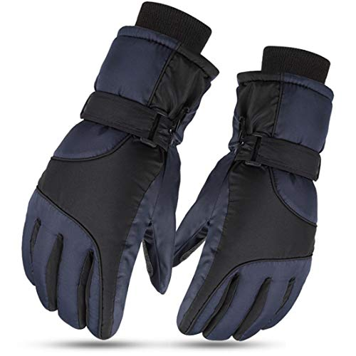 Children's Ski Gloves, XCSW Snowboard Gloves, Waterproof and Windproof Winter Mittens for 9-14 Years Girls and Boys Skiing Snowboard Riding Running Hiking Cycling