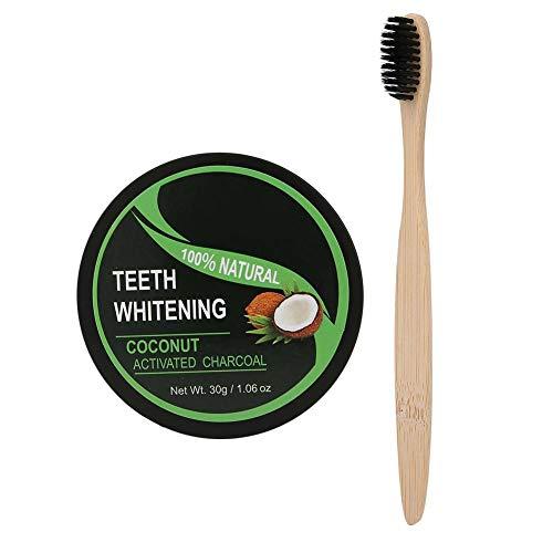 Tanden bleken poeder, natuurlijke actieve kool poeder, orale bleken poeder tandverzorging poeder 30g