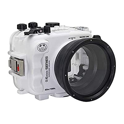 60M/195FT Waterproof housing for Sony A6xxx Series Salted Line by Shenzhen Kaichengyi Technology CO., LTD
