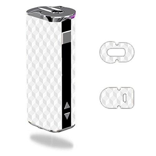 Decal Sticker Skin WRAP White Geometric Cube Design for Eleaf iStick 30W