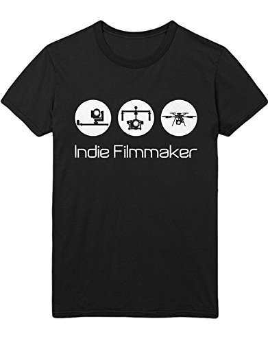 T-Shirt Drones Indie Filmmaker H970039 Schwarz XL