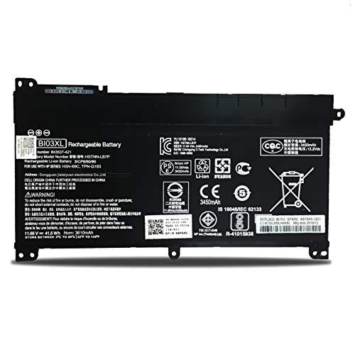 K KYUER Batería para HP Stream 14-AX 14-CB 14-DS 14-AX018NF 14-AX026LA 14-CB111WM 14-CB113WM 14-DS0010NR 14-DS0001NS Pavilion X360 13-U M3-U M3-U003DX M3-U101DX 13-U063NA 13-U131TU BI03XL 0N03XL